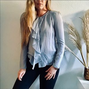 NWT ANTHROPOLOGIE Moulinette Cascade Range Top
